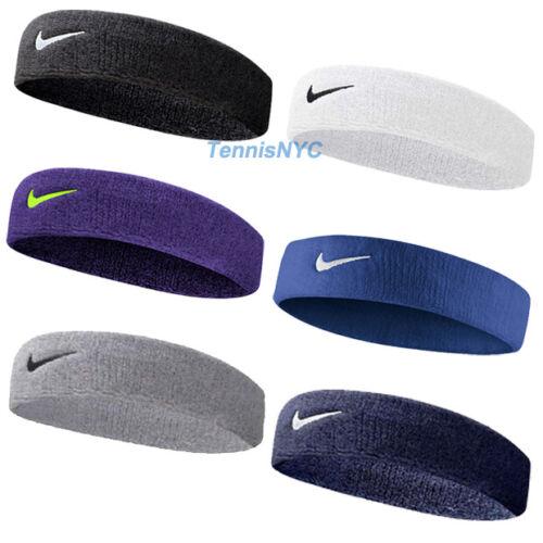 Nike Swoosh Headband Tennis Running Basketball Federer Nadal