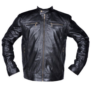 Mens-Premier-Black-Genuine-Soft-Lambskin-Leather-Zipper-Fashion-Jacket