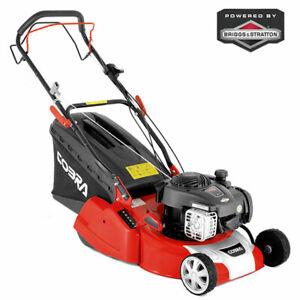 "Cobra RM40SPB 16"" Petrol Powered Rear Roller Lawnmower - LOW UK STOCK"