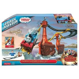 Thomas & Friends Trackmaster Motorized Railway Thomas' Shipwreck Rails Set