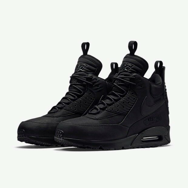 30c213a247 Nike Air Max 90 Sneakerboot Black Size 12 £115 | in Loughton, Essex ...