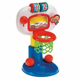 Tess Toys - Fisher Price Dunk'N Cheer Basketball Fab Christmas Gift, Sealed Bag & New Batteries