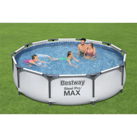 10ft bestway swimming pool x 30inch new in box cash delivery