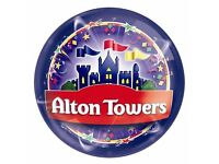 Alton Towers Tickets - BANK HOLIDAY Saturday, Sunday and Monday plus other dates- £ 20 each