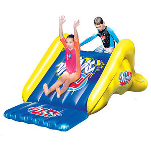 Wahu Pool Party Slide HUGE! 2.5m Long Heavy Duty PVC Inflatable Aquatic Toy