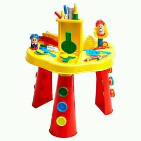 Play doh activity table
