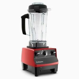 Vitamix 6300 C-Series * 3 Pre-Programmed Settings * Variable Speed Control (Model: VM0102B - Color: Red)