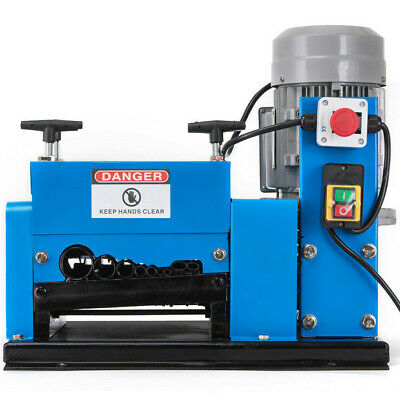 New Wire Stripping Machine 2hp 110v Cable Copper Stripper Recycler Scrap