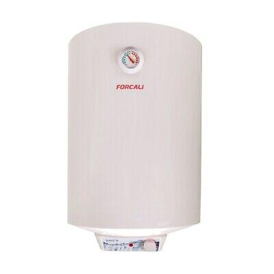 Termo Calentador de agua eléctrico vertical 80 Litros FEH-8S FORCALI Serie SEDNA