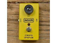 MXR Micro Chorus pedal