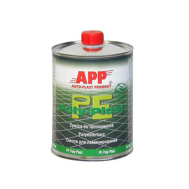 Polyesterharz Polyester Harz PE POLY-PLAST  incl. Härter 1 Liter