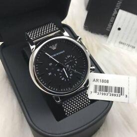 Mens Armani classic watch Brand new watch, Original Timepiece