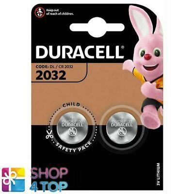 Usado, 2 DURACELL CR2032 LITHIUM BATTERIES BLISTER 3V COIN CELL DL2032 EXP 2027 NEW comprar usado  Enviando para Brazil