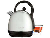 Cookworks Traditional Kettle - Stainless Steel LIKE NEW OR NEW !!!
