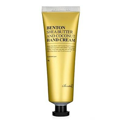 [BENTON] Shea Butter and Coconut Hand Cream 50g