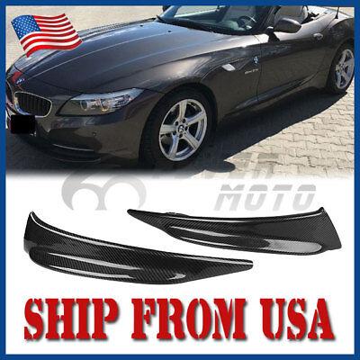 US Carbon Fiber Front Bumper Splitter Spoiler Lip For BMW E89 Z4 2010-2014 FM