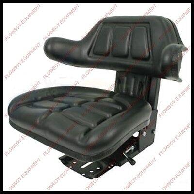 Universal Tractor Seat W Suspension Black For Massey Ferguson 193451v91 265 Lb