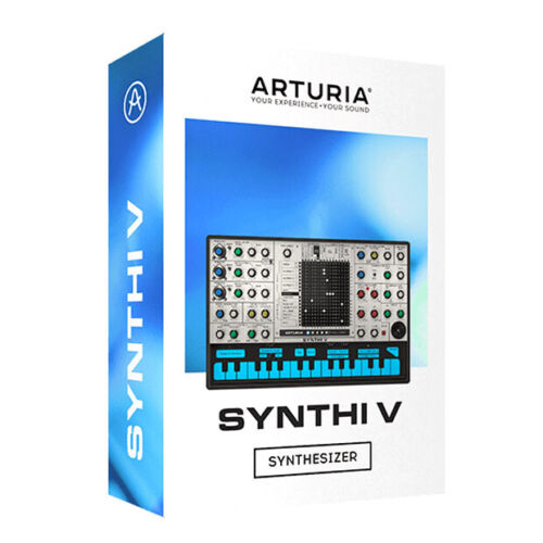 Arturia Synthi V, synthesizer, ems aks synth software download