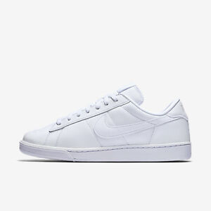 NIKE CLASSIC TENNIS SHOES - White, Size 7, Brand New, only $35