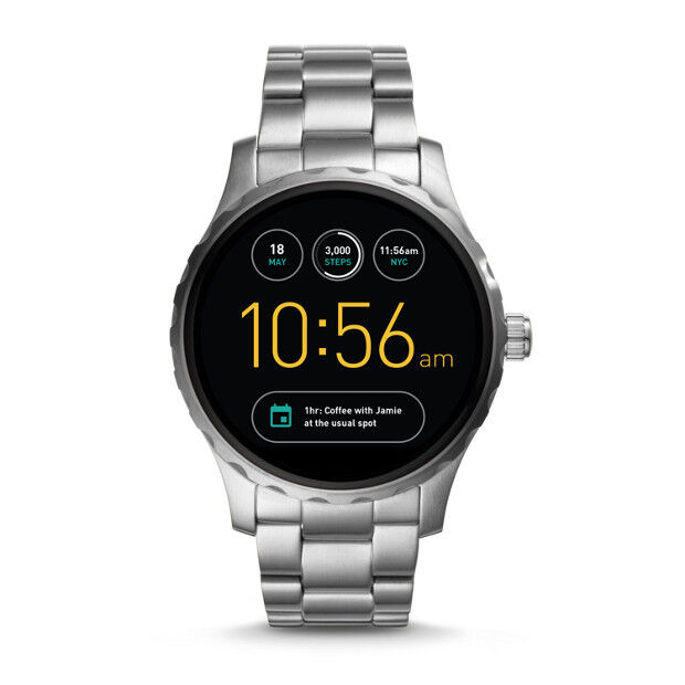 Fossil Q Marshal Wearables FTW2109 Smartwatch Herrenuhr