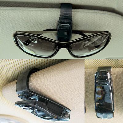 Black Plastic Car Sedan Visor Sun Shield Eyeglass Ticket Sunglasses Holder Clip Dodge Neon Engine Specs