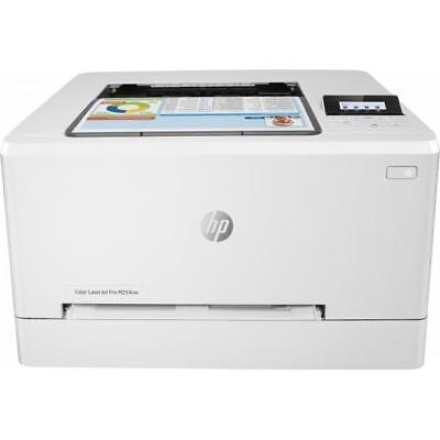 HP Color Laserjet M254NW Pro Laserdrucker Farbdruck WLAN USB 2.0 AirPrint Weiß ()