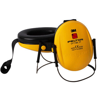 Professional Yellow 3M Peltor Ear Defenders Plug Muff Protectors With Neck-Band