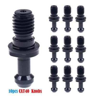 10pcs Cat40 45 58-11 Set Pull Stud Retention Knob Fits Haas Cat Cnc New Usa