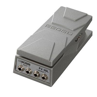 Stereo Volume Pedal - Boss FV-30L Stereo Volume Pedal, Tuner output, fv30