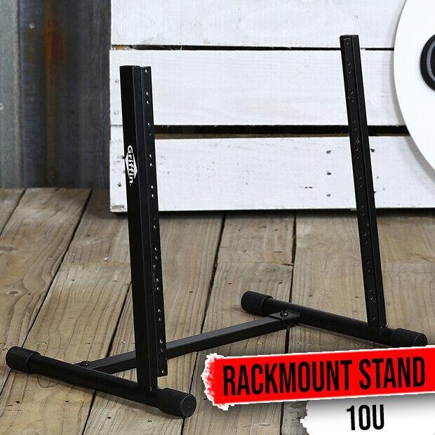 Studio Rack Mount Stand - GRIFFIN Recording Mixer Equipment Gear Case Network DJ