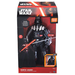 STAR WARS ** DARTH VADER ** INTERACTIVE TOY !!!