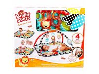 Bright Starts Baby Play Gym Activity Mat Safari BRAND NEW BOXED UP SEALED