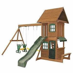 Wooden cubby with swings Mermaid Beach Gold Coast City Preview