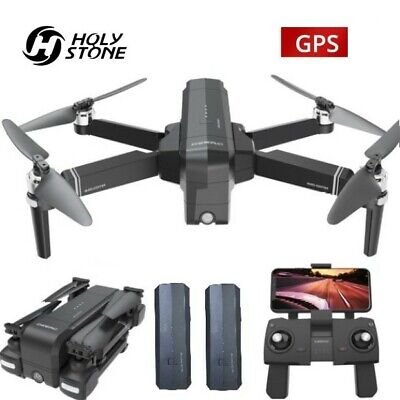DEERC DE22 RC Drone with HD Camera 2K Brushless 5G GPS Quadcopter Two Batteries