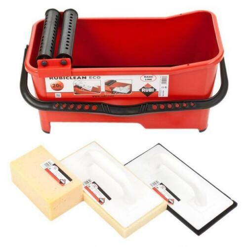 New Rubi Tools 68910 RubiClean Eco Grout Cleaning Kit - Free Shipping