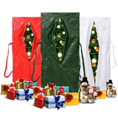 Christmas Tree Storage Bag Box Up to 9 Foot Trees Water Resistant Heavy Duty