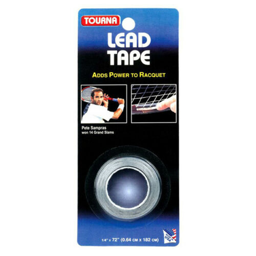 "Tourna Lead Tape 1/4"" x 72"" Tennis Racquets LD-36"