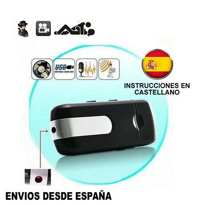 PENDRIVE USB CAMARA ESPIA OCULTA VIDEOS FOTOS 720* 480