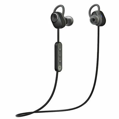 Motorola Verve Loop Wireless Bluetooth Sports Earphones - Black - Headhones