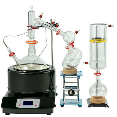 Usa Lab Equipment Premium 5000ml 5l Short Path Distillation Kit