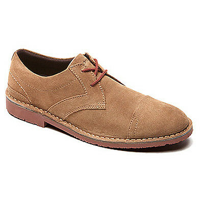 Rockport  Adiprene  By Adidas Mens Urban Edge Captoe Oxford New Vicuna Suede