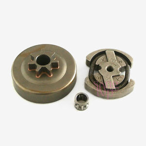 New Clutch Drum & Bearing Set Assy For HUSQVARNA 41 136 137 141 142 Chainsaws