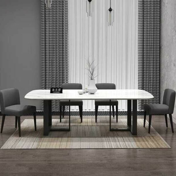 TMDT 16 Marble Dining Office table