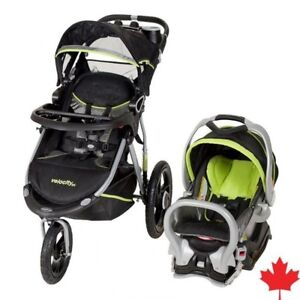 Baby trend velocity sx stroller + carseat