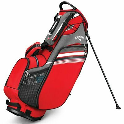 Callaway Hyper-Lite 3 2019 Red Titanium White Stand Golf Bag
