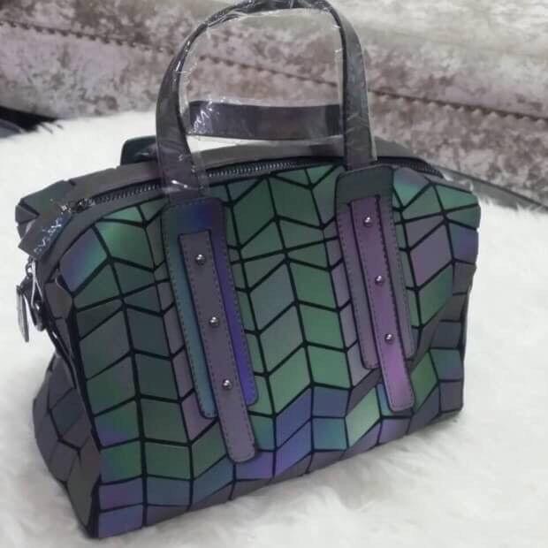 dd8c7fff5a9e9 Schultertasche Handtasche Henkeltasche Beuteltasche Abendtasche Geometrie  PU