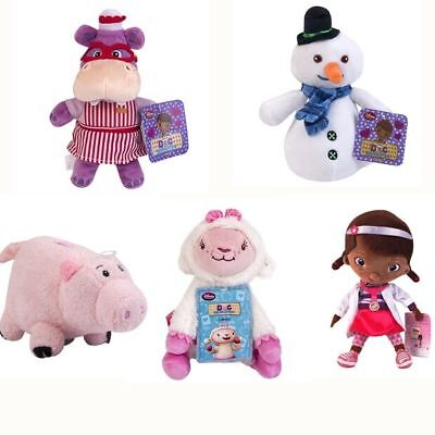 Disney Doc McStuffins Dragon Chilly Snowman Hallie Hippo Lambie Plush Toy Doll - Doc Mcstuffins Lambie
