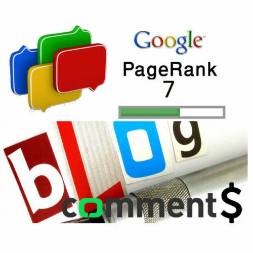 The most popular guerrilla marketing service! 1000 Blog Comments for SEO!