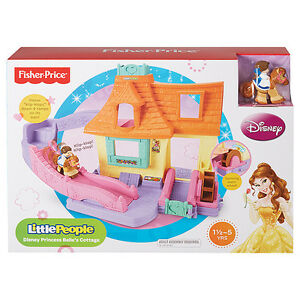 Fisher Price Little People Disney Princess Cottage BRAND NEW