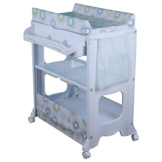 Nappy changing table  for baby + bath tub